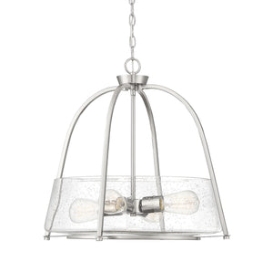597871 - Four Light Pendant - Satin Nickel