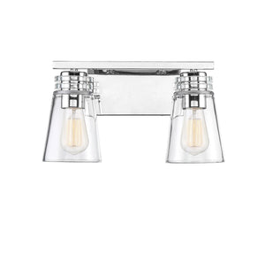 597642 - Two Light Bath Bar - Polished Nickel