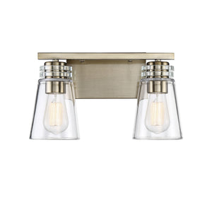 597643 - Two Light Bath Bar - Noble Brass
