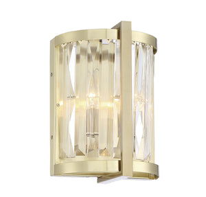 597691 - Two Light Wall Sconce - Noble Brass