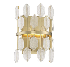 597697 - Two Light Wall Sconce - Noble Brass