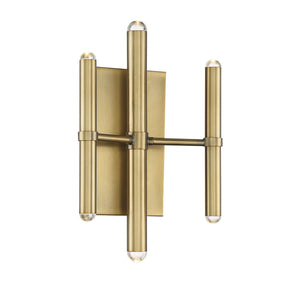 597612 - LED Wall Sconce - Warm Brass