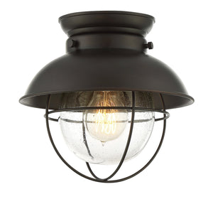 513160 - One Light Flush Mount - Oil Rubbed Bronze