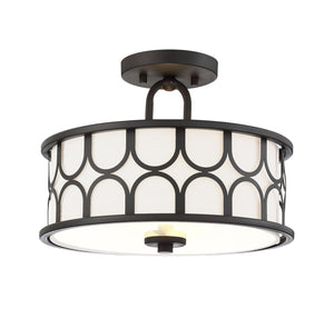 513173 - Two Light Semi Flush Mount - Oil Rubbed Bronze