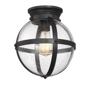 513809 - One Light Flush Mount - Oil Rubbed Bronze