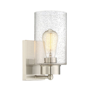 513640 - One Light Wall Sconce - Brushed Nickel