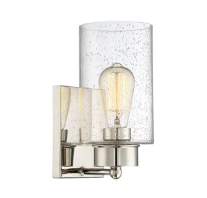 513643 - One Light Wall Sconce - Polished Nickel