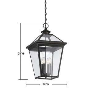 570740 - Four Light Hanging Lantern - English Bronze