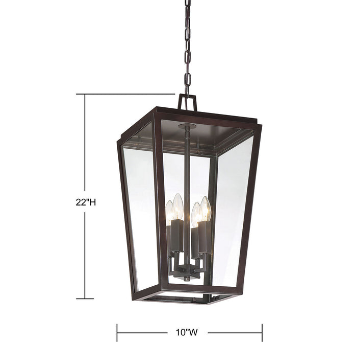 Four Light Hanging Lantern