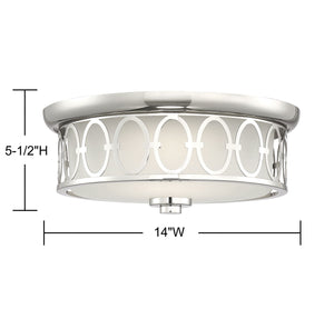 570747 - LED Flush Mount - Polished Nickel