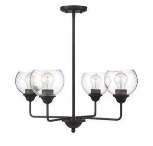 574774 - Four Light Chandelier - Oil Rubbed Bronze