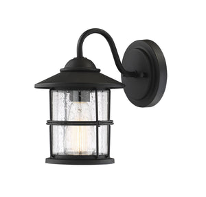 574504 - One Light Outdoor Wall Sconce - Matte Black