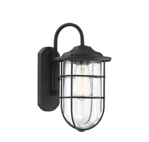 574502 - One Light Outdoor Wall Sconce - Matte Black
