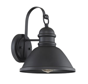 574503 - One Light Outdoor Wall Sconce - Matte Black