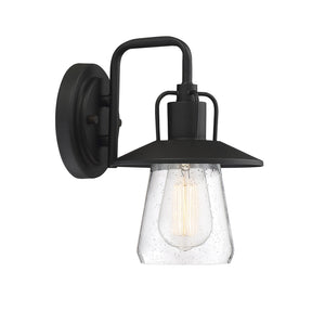 574505 - One Light Outdoor Wall Sconce - Matte Black