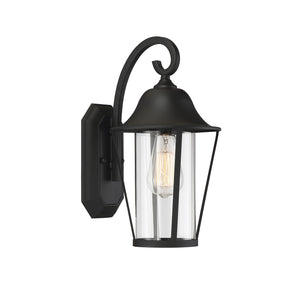 574540 - One Light Outdoor Wall Sconce - Matte Black