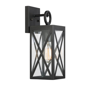 574549 - One Light Outdoor Wall Sconce - Black