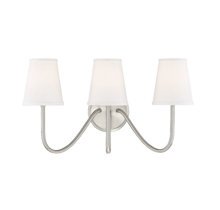 Three Light Wall Sconce