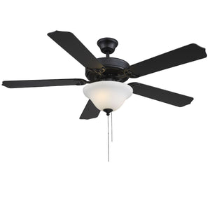 579688 - 52``Ceiling Fan - Matte Black