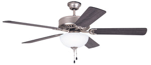 "52"" Nickel Fan with LED Light"