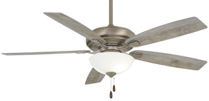 "60"" Nickel Fan with Graywashed Blades"