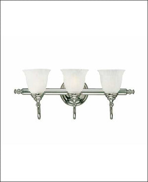 434808 - Three Light Bath Bar - Chrome