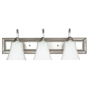 3-Light Nickel Bath Light