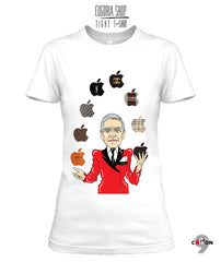 Armani T Shirt Juggling Apple Print