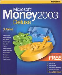 Microsoft Money 2003 Deluxe w/ Manual