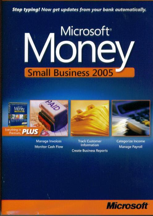 Microsoft Money 2005 Small Business