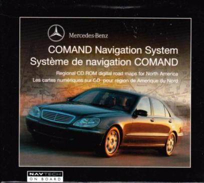 Mercedes-Benz Comand Navigation System: California & Nevada 2000