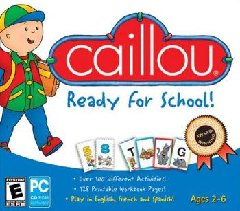 Caillou: Ready for School! 1CD