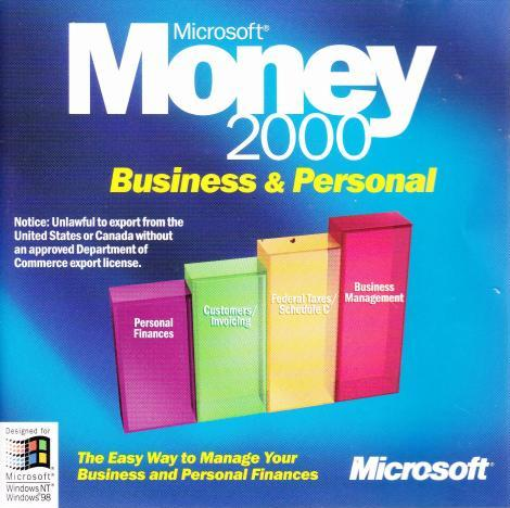 Microsoft Money 2000 Business & Personal