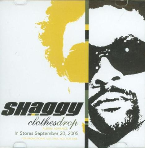Shaggy: Clothes Drop Advance Promo w/ Artwork