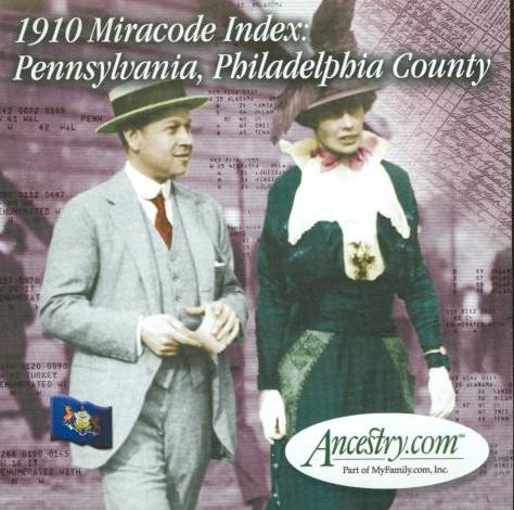 Ancestry: 1910 Miracode Index: Pennsylvania, Philadelphia County