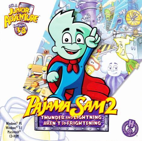 Pajama Sam: Thunder And Lightning Aren't So Frightening 2