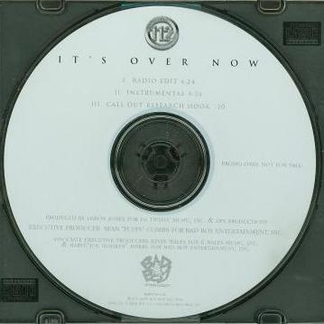 112: It's Over Now Promo, No Artwork