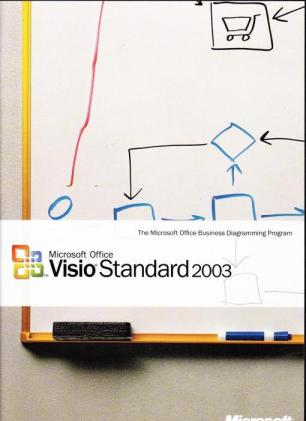 Microsoft Visio 2003 Upgrade w/ Manual