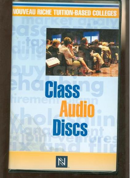 Nouveau Riche Tuition-Based Colleges: Class Audio Discs 49CDs Set