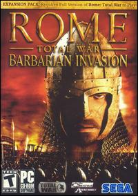 Total War: Rome Barbarian Invasion w/ Manual