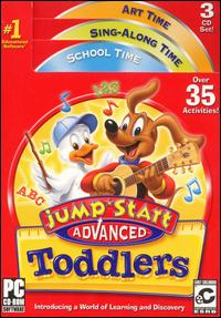 JumpStart Toddlers Advanced [3CD]