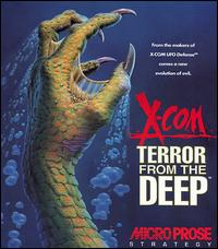 X-COM: Terror From The Deep w/ Manual