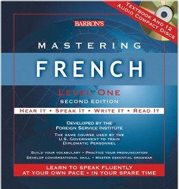 Mastering French Level One Second Edition w/ Textbook & 12 CDs
