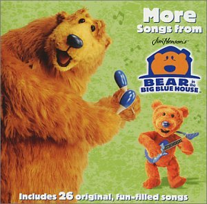 More Songs From Bear In The Big Blue House Promo w/ Artwork