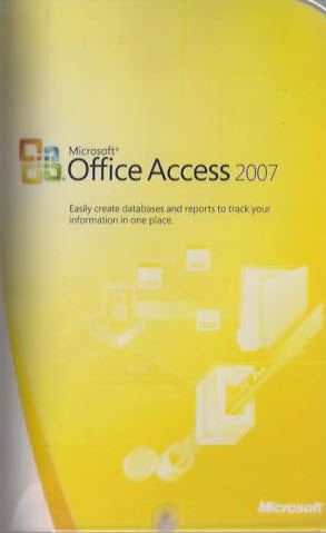 Microsoft Access 2007 Upgrade