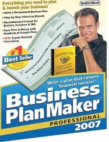 Business PlanMaker 2007 Professional