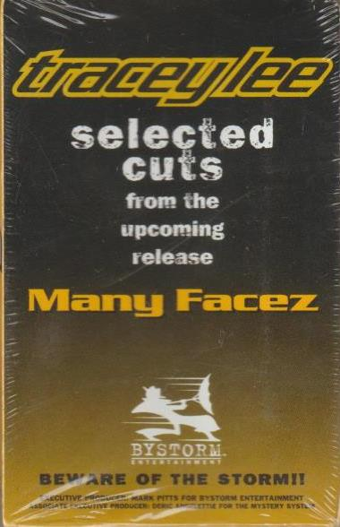 Tracey Lee: Selected Cuts From The Upcoming Release: Many Facez Promo w/ Artwork