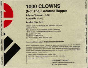 1000 Clowns: (Not The) Greatest Rapper Promo