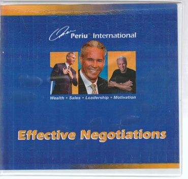 Effective Negotiations 3-Disc Set
