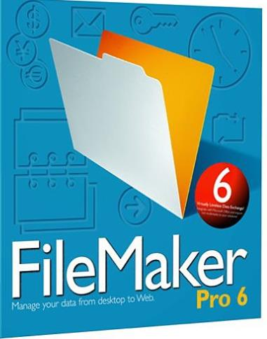 FileMaker 6.0 Pro w/ Manual